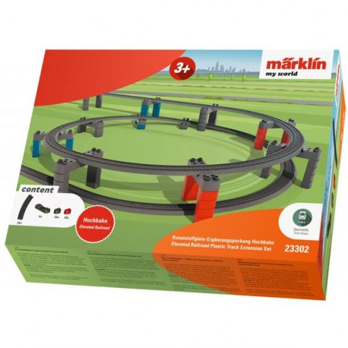 Set extensie Sine de tren Marklin My World Elevated Railroad