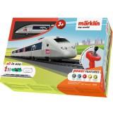 Trenulet electric Marklin TGV Starter Set cu accesorii