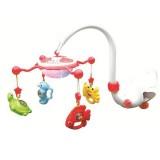 Carusel muzical Baby Mix Aqua Magic rosu