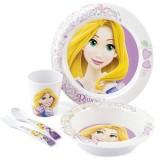 Set pentru luat masa Lulabi 5 piese Rapunzel