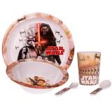 Set pentru luat masa Lulabi 5 piese Star Wars
