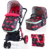 Carucior Cosatto Giggle 2 in 1 flamingo fling