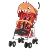 Carucior sport Chipolino Ergo red baby dragon