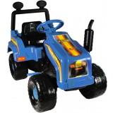 Tractor Super Plastic Toys Mega Farm blue