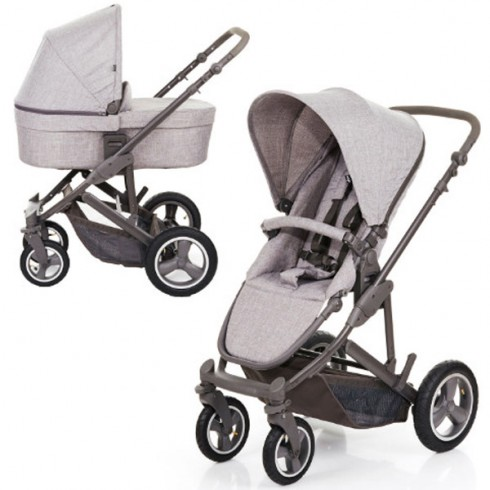 Carucior Circle ABC Design Catania 4 Air 2 in 1 woven grey