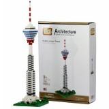 Jucarie de construit Loz Turnul Kuala Lumpur Architecture Nano