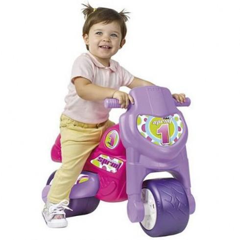 Motocicleta de impins Feber Motoferber Sprint violet