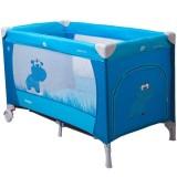 Patut pliabil Coto Baby Samba albastru