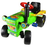 Tractor Super Plastic Toys Turbo green