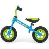 Bicicleta fara pedale Milly Mally Dragon Air blue