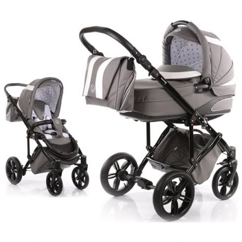 Carucior Volkswagen Carbon Optik Knorr-Baby 2 in 1 grey