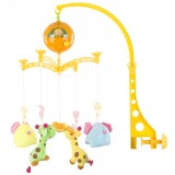 Carusel muzical pentru patut Chipolino Giraffes and Elephants {WWWWWproduct_manufacturerWWWWW}ZZZZZ]