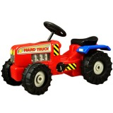 Tractor Super Plastic Toys Hard Truck red