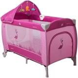 Patut pliabil Coto Baby Samba Lux roz