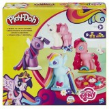 Set Hasbro Plastilina Play Doh Creeaza si Decoreaza Ponei