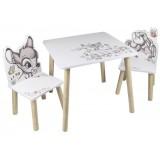 Set masuta si scaunele Global Bambi