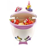 Suport pentru baie Thermobaby Bubble Fish orchid