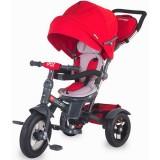 Tricicleta cu copertina si sezut reversibil Coccolle Giro Plus rosu
