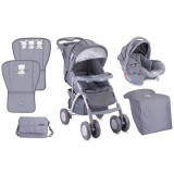 Carucior Bertoni - Lorelli Rio 2 in 1 grey Friends 2016