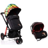 Carucior Cangaroo Sarah 2 in 1 colorful