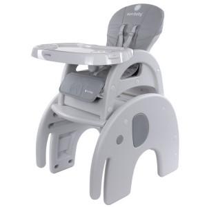 Scaun de masa Sun Baby 010 Elefant Jumbo grey