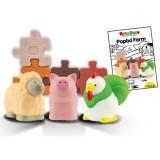 Set jucarii K's Kids Popbo Animale de la ferma tip 1