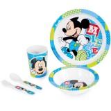 Set pentru luat masa Lulabi 5 piese Mickey
