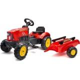 Tractor cu Remorca Falk SuperCharger rosu