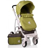 Carucior Moni Tala 2 in 1 green
