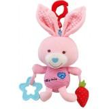 Jucarie muzicala plus Baby Mix Pink Rabbit