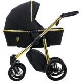 Carucior Venicci Gold Black 3 in 1