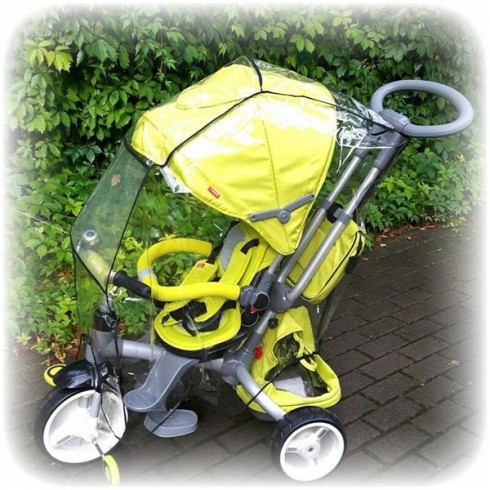 Husa de ploaie Sun Baby pentru triciclete