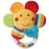 Jucarie zornaitoare Brevi Soft Toys 152715 Soare