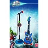 Set chitara si microfon Avengers {WWWWWproduct_manufacturerWWWWW}ZZZZZ]