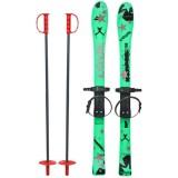 Skiuri copii Marmat 90 cm Verde