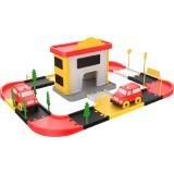 Statie pompieri Ucar Toys 46 piese