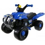ATV Super Plastic Toys Blue Police
