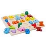 Puzzle New Classic Toys Alfabet Litere Mici