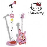 Set chitara si microfon Hello Kitty {WWWWWproduct_manufacturerWWWWW}ZZZZZ]