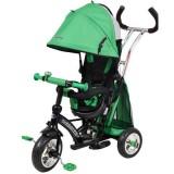 Tricicleta cu copertina Baby Mix Sunrise Turbo Trike green