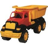 Masinuta Ucar Toys Autobasculanta gigant cu axa dubla 70 cm