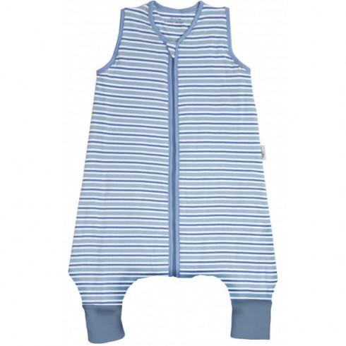 Sac de dormit Slumbersac Blue Stripes 12-18 luni 0.5 Tog