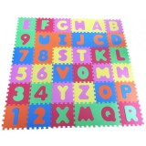 Covoras de joaca Knorrtoys Alphabet and Numbers