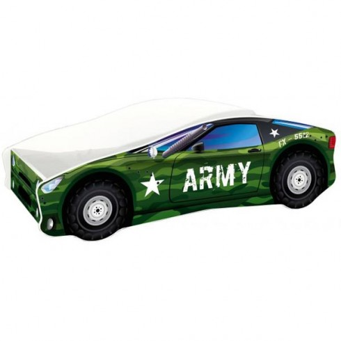 Patut MyKids Race Car 07 Army 160x80