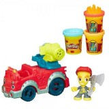Set Hasbro Plastilina Play Doh Masina Pompierilor