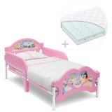 Pachet Patut Delta Children Disney Princess si Saltea Dreamily