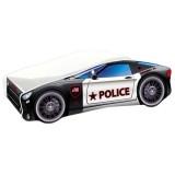 Patut MyKids Race Car 03 Police 160x80