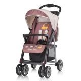 Carucior Baby Max Nicole 2 in 1 cu scaun auto brown