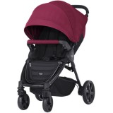 Carucior Britax - Romer B-Agile 4 Plus wine red