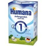 Lapte praf Humana 1 de la nastere 600 g